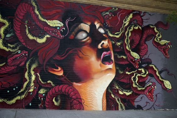 The most beautiful depiction of Medusa I've ever seen.