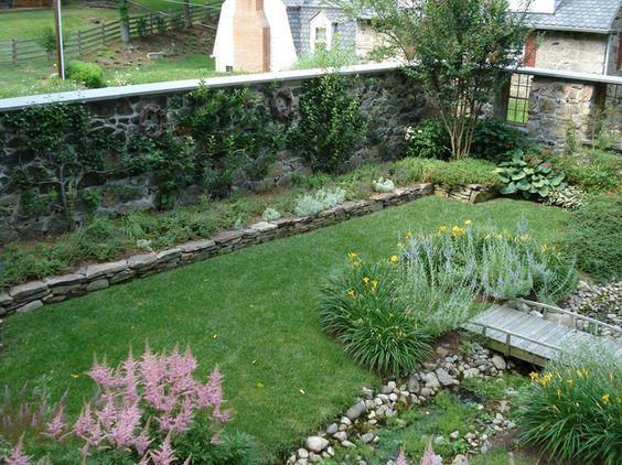 turn the corral into a secret garden by Slater Associates Landscape Architects
