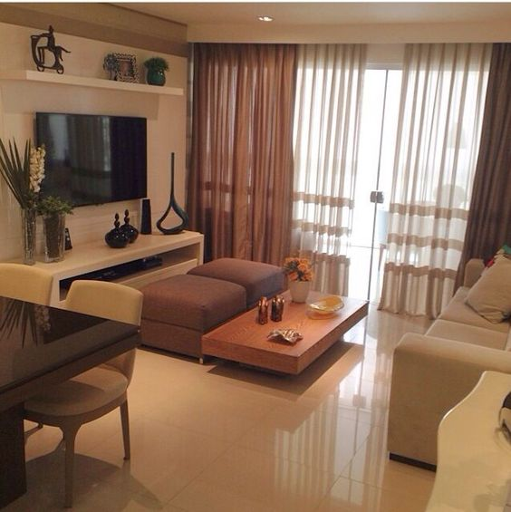 Sala pequena e aconchegante salas pinterest design - Pinturas para salones pequenos ...
