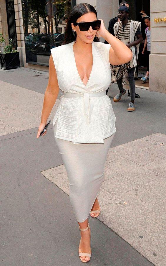 Kim Kardashian | 3 Dicas de Estilo para Futuras Mamães