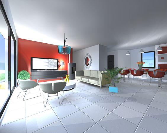 Osez la couleur pour la d coration int rieure de votre for Voir decoration interieur maison
