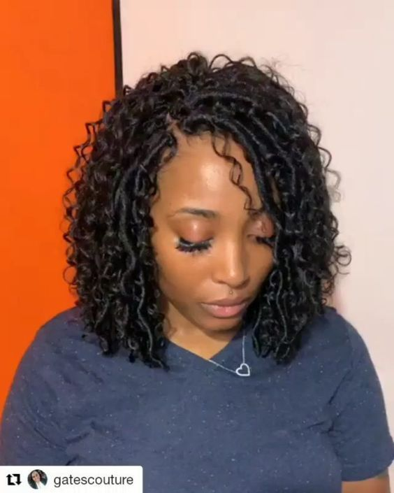 40 Stylish Crochet Braids Styles You Should Try Next Locs Hairstyles Faux Locs Hairstyles Crochet Braids Hairstyles
