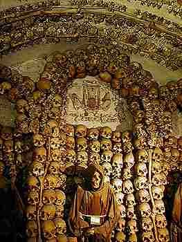Church of the Immaculate Conception, Rome, Italy. Or as it is known in our family - The Bone Church