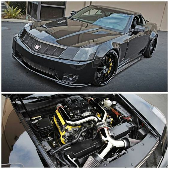 Custom Widebody Cadillac XLR-V