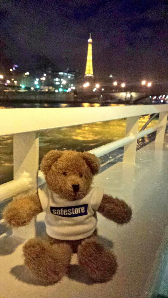 Max had a brilliant trip in Paris over the Valentine's weekend, he even got to go up the Eiffel Tower! We hope you all enjoyed your weekend too!
