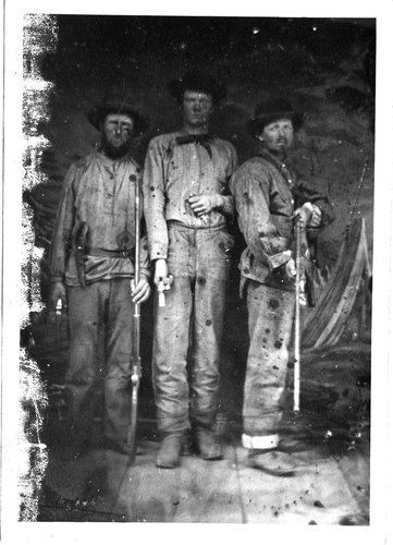 Confederate guerrillas on the Missouri-Kansas border