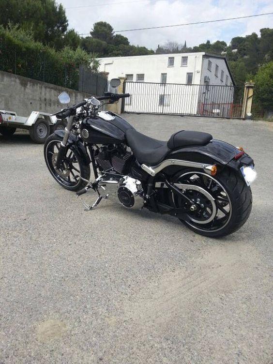 Breakout in Vivid Black   Harley Davidson Love   Pinterest ...