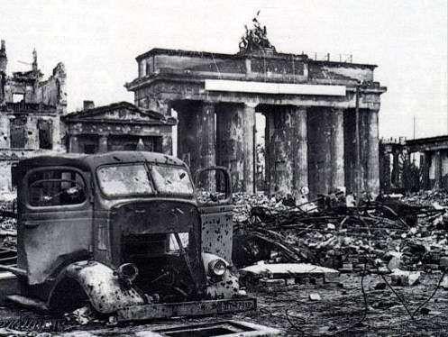 La destrucción total, una de las consecuencias de la Segunda Guerra Mundial
