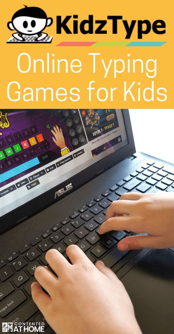 Ad Help Your Child Learn Important Keyboarding Skills With These Online Typing Games For Kids Online Games For Kids Learning Websites For Kids Typing Games