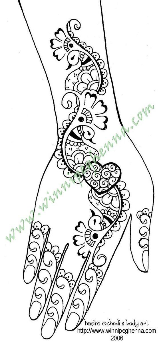 mehndi henna patterns
