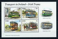 Ireland 1987 S/S Railway Trains Trams MNH