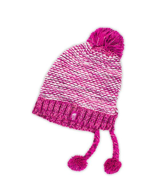 488ae50d985 Soothers Girls Pom Beanie Warm Ribbed Knit Hat - Red Green. Vibrant colors  with the power of the Pom Pom!.