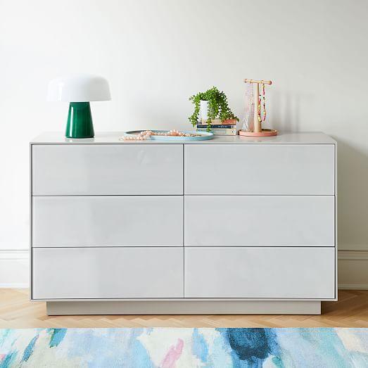 Emilia 6 Drawer Dresser Haze In 2020 6 Drawer Dresser Dresser Drawers Furniture
