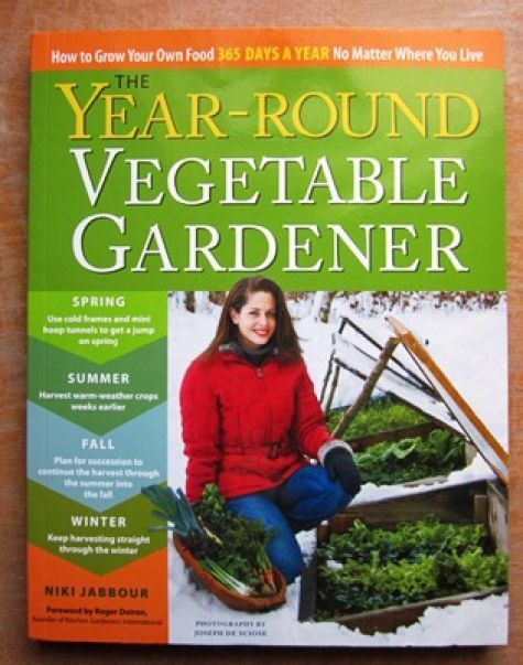 "Four seasons of vegetable gardening sounds like a gardener's dream come true. Niki Jabbour proves it's possible in her new book, ""The Year-Round Vegetable Gardener."""