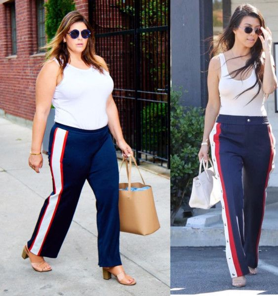 Chrissy Teigen's Casual Day Outfit - This Blogger Is Proof You Can Dress Like A Celebrity At Any Size - StyleBistro