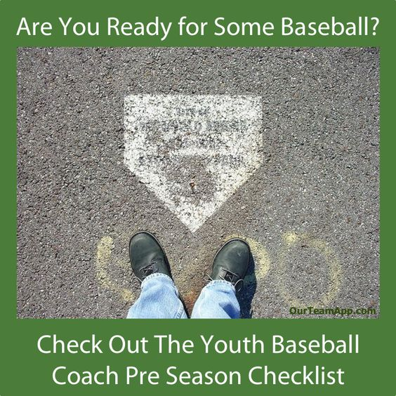FREE Download*** Pre-Season Checklist for Youth Baseball Coaches*** Click the Link/Image to GRAB IT NOW!