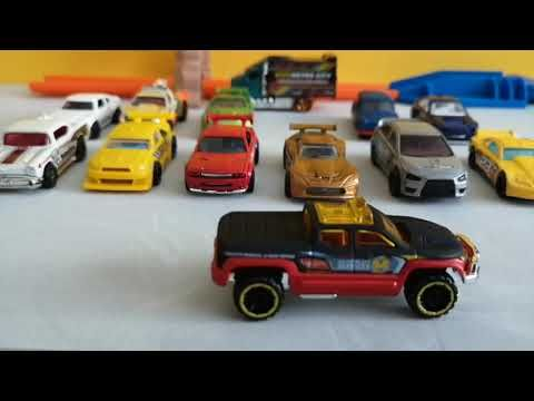 Set De Coches De Hot Wheels Mega Pack Los Mas Rapidos