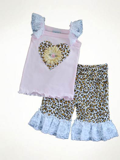 Haute Baby Sweet Thing Capri Set