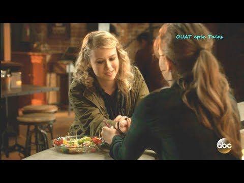 Once Upon A Time 7x18 Robin Puts Back Bracelet On Alice Tilly