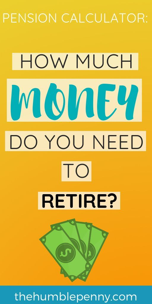 Pension Calculator How Much Money Do You Need To Retire Saving For Retirement Money Saving Tips Personal Finance Advice