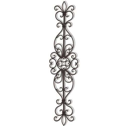 Scroll Design Wall Decor : Found it at wayfair decorative iron hanging vertical
