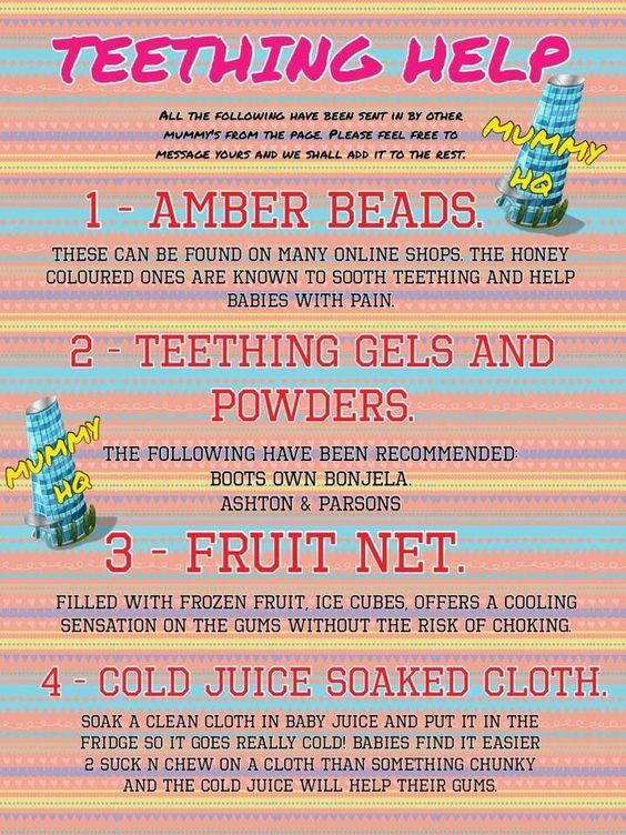 Teething help