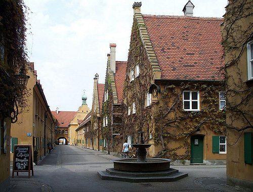 Fuggerei - look it up!  Augsburg Germany. :)