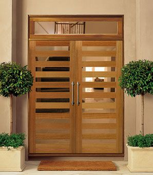 timber entry door from william russell doors front