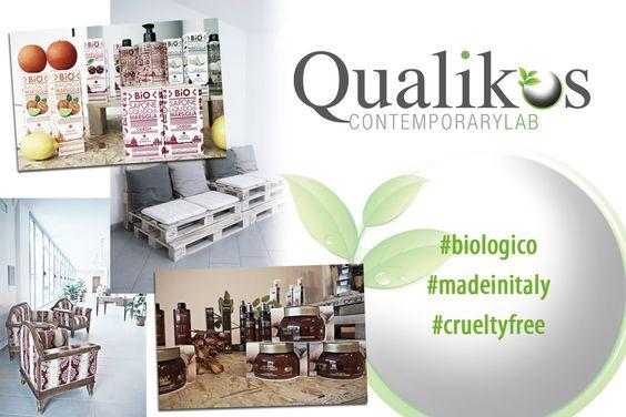 Qualikos è un'azienda italiana di prodotti certificati AIAB - Associazione Italiana per l'Agricoltura Biologica e LAV. Fatti con amore e nel rispetto dell'#ambiente. Scopri le nostre linee 100% biologiche e scegli il #benessere ✿  #bellezza