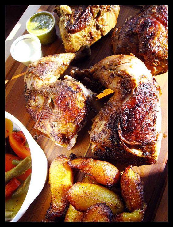 Inka Chicken in Pflugerville; Peruvian chicken! Plantains!  Must remember.
