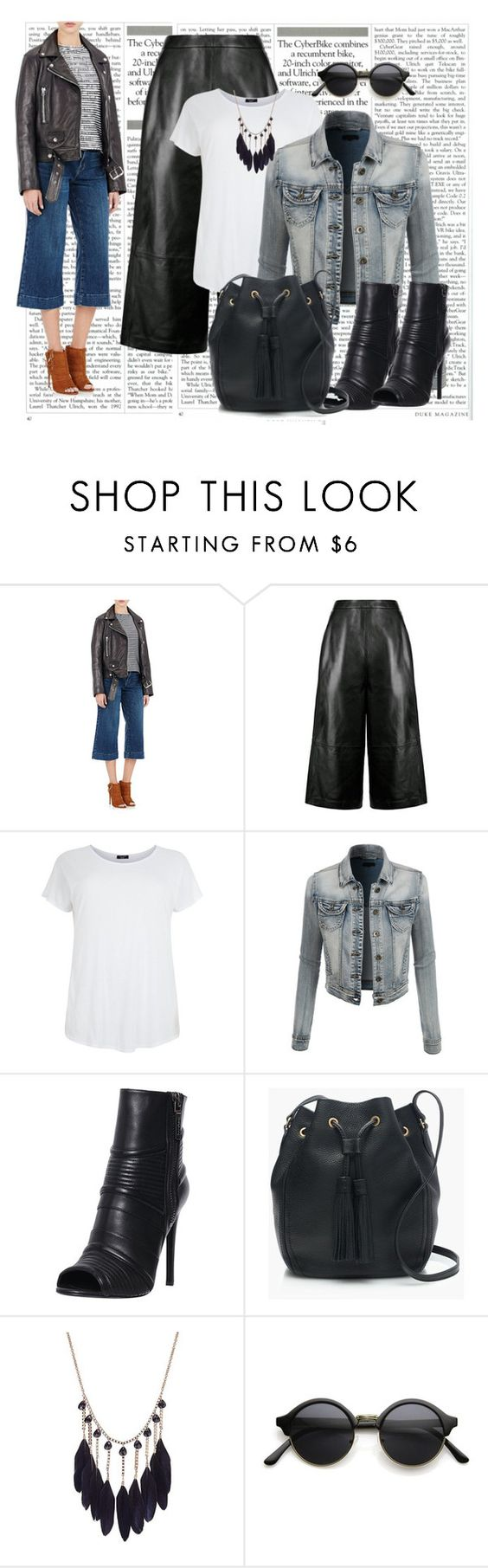 """casual"" by ebramos ❤ liked on Polyvore featuring мода, J Brand, Whistles, LE3NO, Pierre Balmain, J.Crew, women's clothing, women's fashion, women и female"