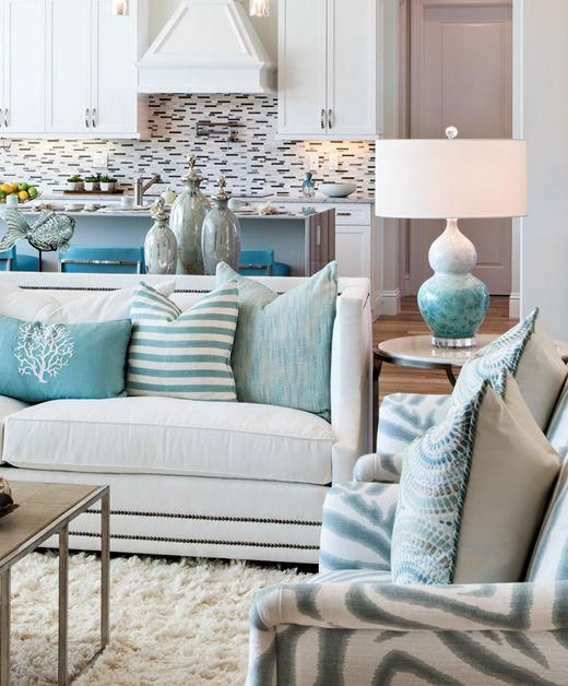 Choosing The Best Table Lamps For Your Home Blue Living Room