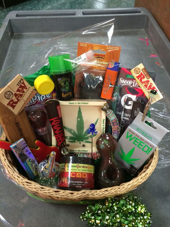 420 raffle basket from a local business I won today 2015   420 ...