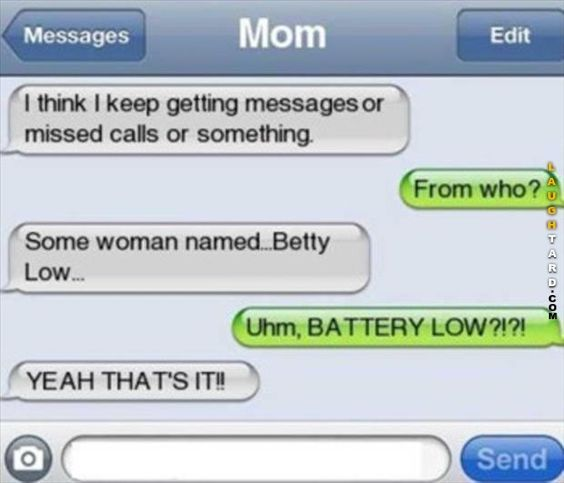 Battery Low: