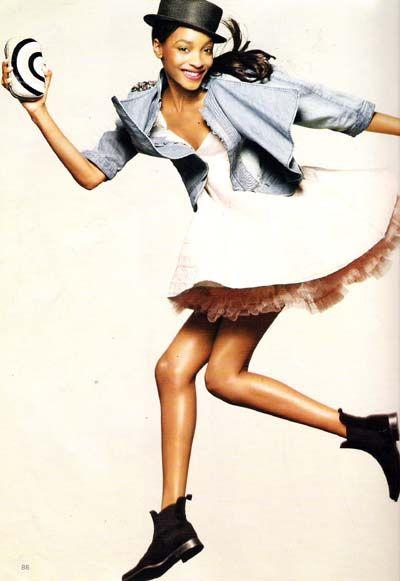 British Vogue   June 2009