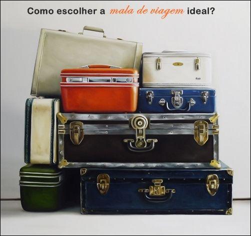 Como escolher a mala de viagem ideal?