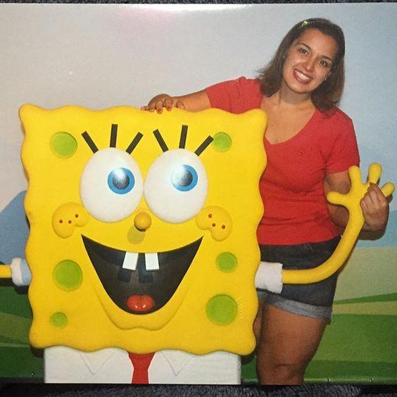 Criança pra sempre #tbt #criança #eternacriança #bobesponja #spongebob #dreamland #museudecera #fortaleza #férias by rafamcassia
