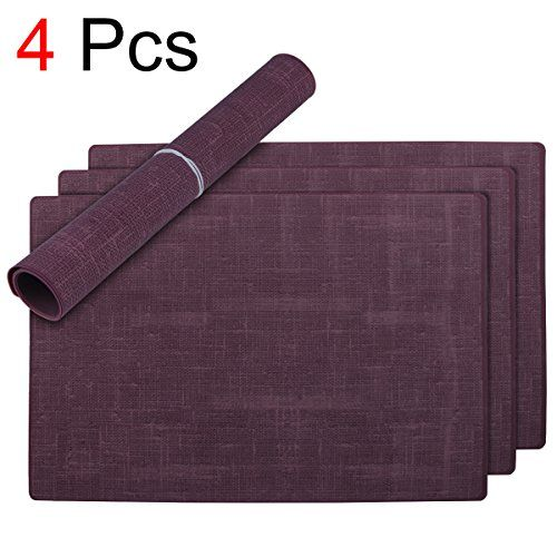Sudaji Placemats Silicone Table Mats Place Mats For Kitchen Dining