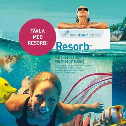 Sampling event at Arlanda, during the first week of July. Also promoting Resorb summer competition including strategic cooperation with NIVEA and Falkenberg Strandbad - www.resorbyourself.com