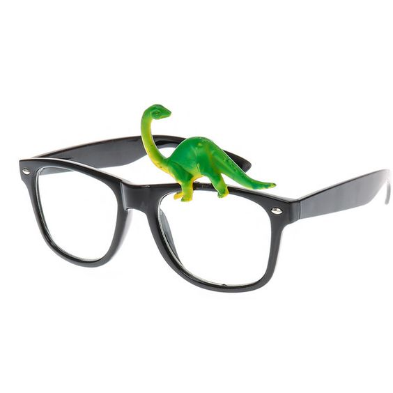 Dinosaur Round Black Frames | Claire's ($35) ❤ liked on Polyvore featuring home, home decor and black home decor
