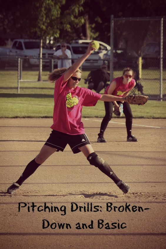 softball pitching drill basics