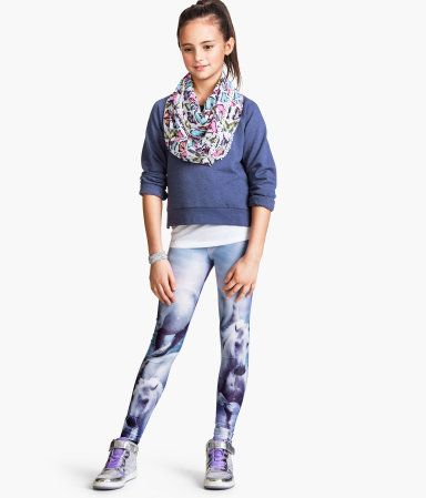Product Detail | H&M US...love the butterfly print and photoreal leggings: