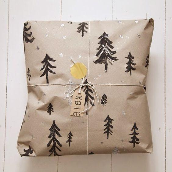 homemade gift wrap | junkaholique.