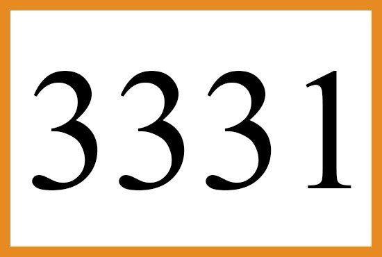 3331のエンジェルナンバーの意味は マスターたちがあなたをプラス思考に導いています です More Than Ever エンジェル ナンバー 思考 プラス思考