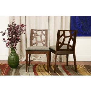 Jenifer Dining Chair Set of 2 by Wholesale Interiors - Jenifer-DC-109670-2SET