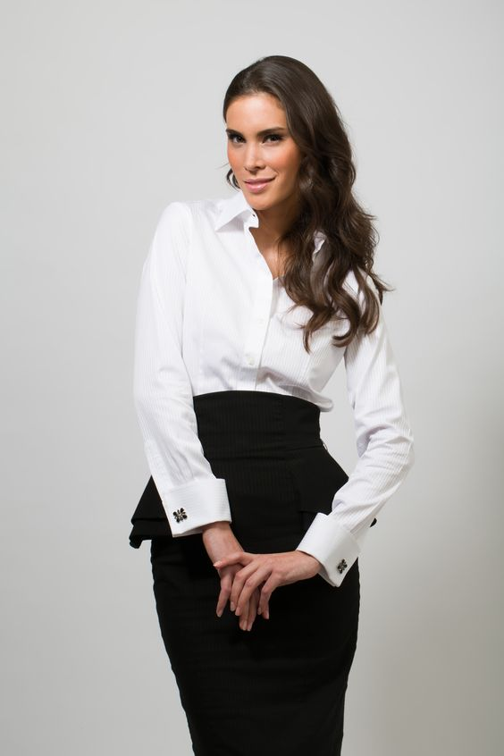 Pinterest the world s catalog of ideas for White french cuff shirt