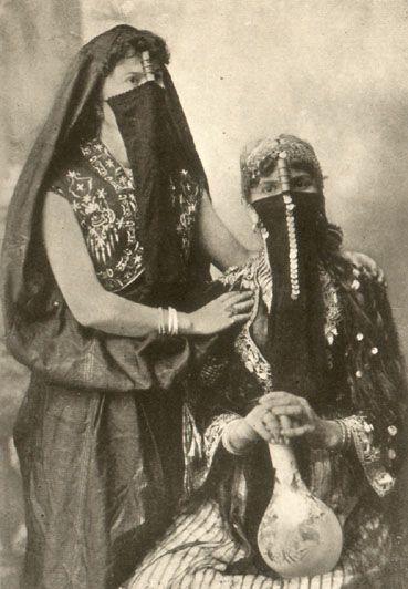 MEMBERS OF AN ARABIAN HAREM: