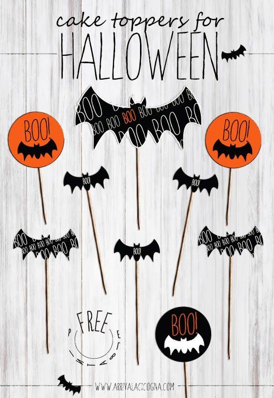 {Halloween} Bannières, deco, photobooth à gogo à imprimer |