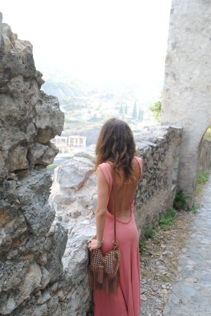 your everyday backless maxi dress...