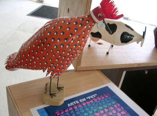 artesanato bichos com garrafa pet - Pesquisa Google
